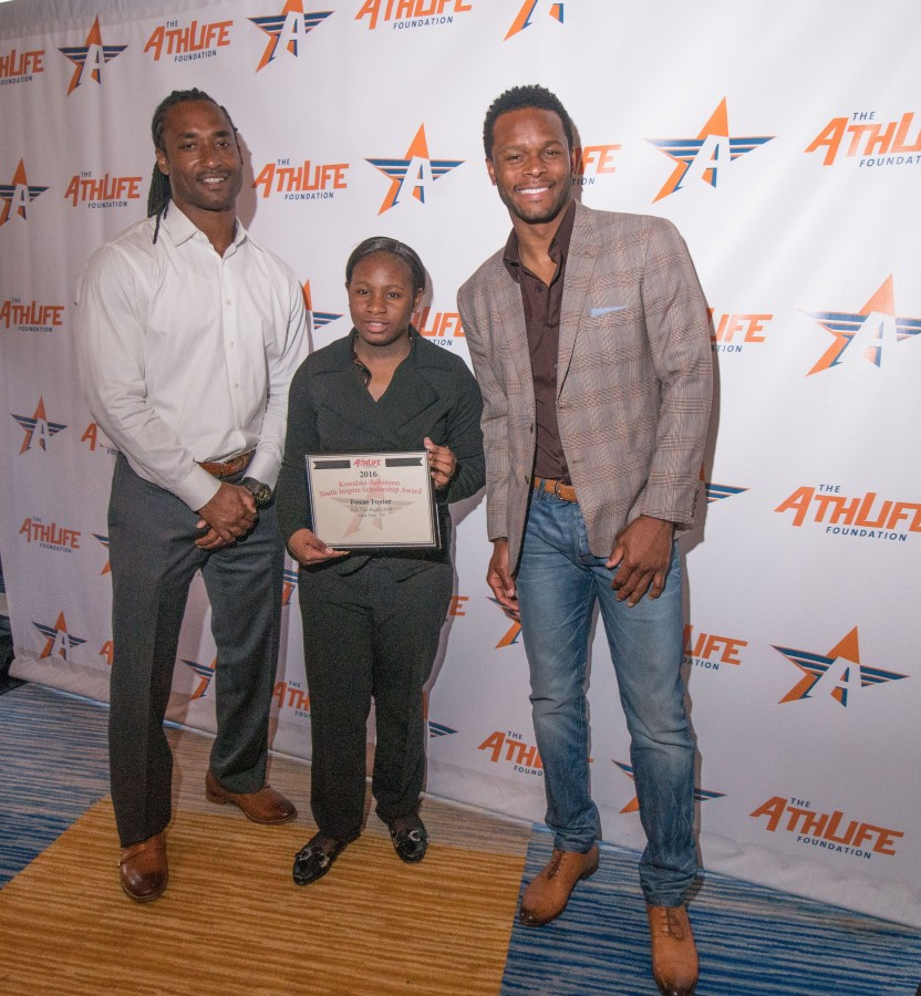 AthLife Youth Inspire Award Recognizes NFL Player and NFLPA Director